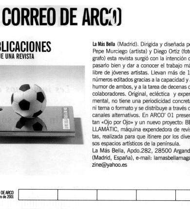 ReseñasPrensa-Correo de Arco_17 FEB 2001
