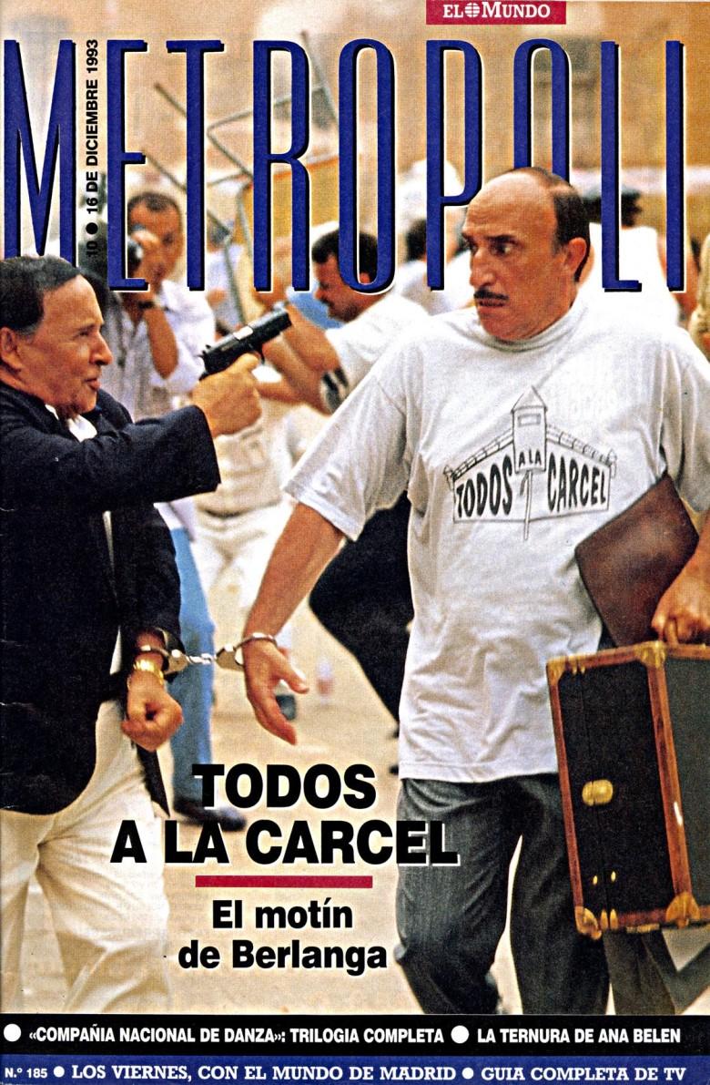 ReseñasPrensa-El Mundo-Metropolis_ 10-16 DIC 1993 Portada