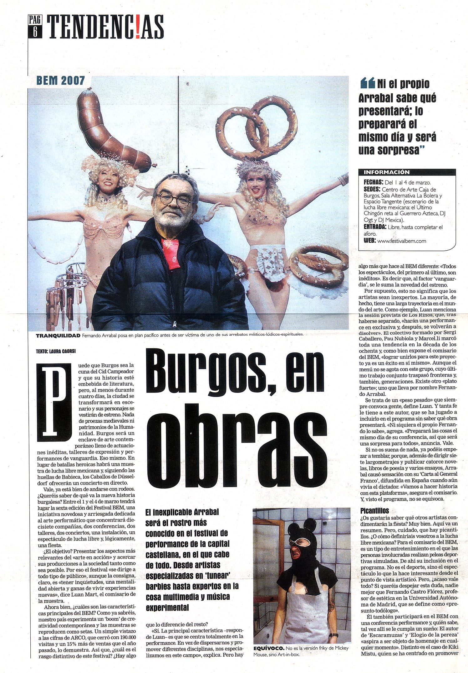 ReseñasPrensa-Evasion_Burgos_23feb2007_Pag6
